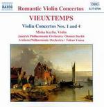 Vieuxtemps: Violin Concertos Nos. 1 and 4