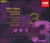 Villa-Lobos: Bachianas Brasileiras; Mômoprecóce; Guitar Concerto - Angel Romero (guitar); Barbara Hendricks (soprano); Cristina Ortiz (piano); Eldon Fox (cello); Jorge Federico Osorio (piano);...