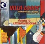 Villa-Lobos: String Quartets, Vol. 6