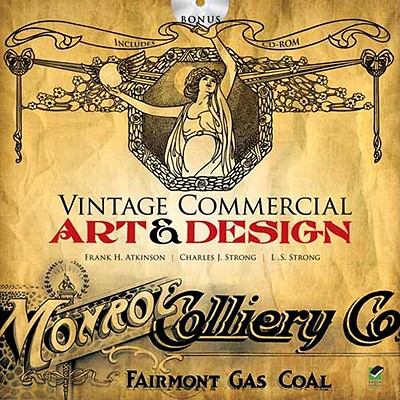 Vintage Commercial Art and Design - Atkinson, Frank H., and Strong, Charles J., and Strong, L. S.