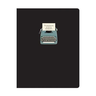 Vintage Typewriter Deluxe Spiral Notebook - Phat Dog Vintage (Artist), and Galison (Artist)