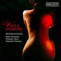 Viola d'Amore - Chloe Meyers (viola d'amore); David Jacques (theorbo); David Jacques (lute); Erin Helyard (organ);...