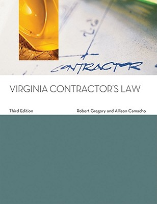 Virginia Contractor's Law - Gregory, Robert