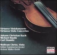 Virtuoso Viola Concertos - Roswitha Trimborn (harpsichord); Wolfram Christ (viola); Helmut Müller-Brühl (conductor)