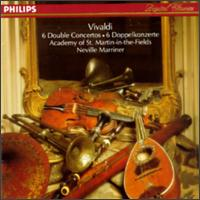 Vivaldi: 6 Double Concertos - Academy of St. Martin in the Fields; Barry Davis (oboe); Celia Nicklin (oboe); Douglas Wootton (mandolin); Graham Sheen (bassoon); Iona Brown (violin); James Tyler (mandolin); Michael Laird (trumpet); Nicholas Hill (horn); Timothy Brown (horn)