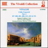 Vivaldi: Cello Concerti, Vol. 2 - Keith Harvey (cello); Nicholas Kraemer (organ); Nicholas Kraemer (harpsichord); Raphael Wallfisch (cello);...