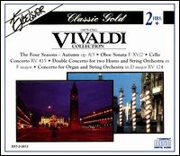 Vivaldi Collection - Alexander Pervomaysky (violin); Alois Spach (horn); Andreas Schmid (cello); Gottfried Roth (horn);...
