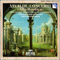 """Vivaldi: Concerti; """"Alla Rustica"""" - Carlos Riera (chalumeau); Colin Lawson (clarinet); David Reichenberg (oboe); Jakob Lindberg (theorbo);..."""