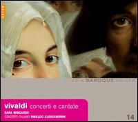Vivaldi: Concerti e Cantate - Concerto Italiano; Francesca Vicari (violin); Luigi Piovano (cello); Sara Mingardo (alto); Rinaldo Alessandrini (conductor)