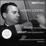 Vivaldi: Four Seasons; Mozart: Violin Concerto No. 5
