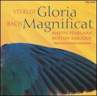 Vivaldi: Gloria; Bach: Magnificat - Boston Baroque; Deanne Meek (mezzo-soprano); Don Frazure (tenor); Mary Phillips (alto); Stephen Powell (baritone);...