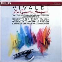Vivaldi: Le Quattro Stagioni - Carmel Kaine (violin); Iona Brown (violin); Academy of St. Martin-in-the-Fields