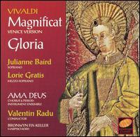 Vivaldi: Magnificat (Venice Version); Gloria - Ama Deus Ensemble Baroque Orchestra; Andrea Brown (soprano); Bonnie Hoke (soprano); Bronwyn Fix-Keller (harpsichord);...