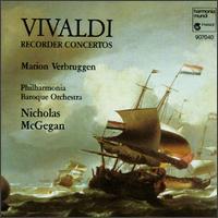 Vivaldi: Recorder Concertos - Marion Verbruggen (recorder); Philharmonia Baroque Orchestra; Nicholas McGegan (conductor)