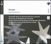 Vivaldi: Sacred Music - Charles Medlam (cello); Christiane Jaccottet (harpsichord); Claire Shanks (oboe); Daniel Grosgurin (cello);...