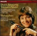 Vivaldi, Sammartini, Telemann, Händel: Recorder Concertos - Michala Petri (recorder); Michala Petri (recorder); Academy of St. Martin in the Fields; Iona Brown (conductor)