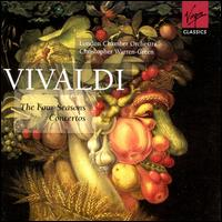 Vivaldi: The Four Seasons; Concertos - Christopher Warren-Green (violin); Gerald Ruddock (trumpet); Graham Ashton (trumpet); Gregory Hunt (oboe);...