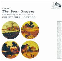 Vivaldi: The Four Seasons - Alison Bury (violin); Catherine Mackintosh (violin); Christopher Hirons (violin); Christopher Hogwood (harpsichord);...