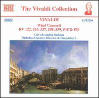 Vivaldi: Wind Concerti - Christopher Hooker (oboe); Crispian Steele-Perkins (trumpet); David Rix (clarinet); Duke Dobing (flute);...