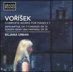 Voísek: Complete Works for Piano, Vol. 1