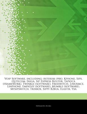 Voip Software, Including: Asterisk (Pbx), Kphone, Sipx