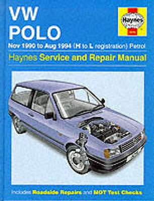 Volkswagen Polo (90-94) Service and Repair Manual - Legg, A. K., and Drayton, Spencer