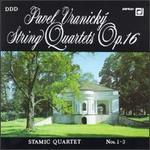 Vranický: String Quartets, Op.16