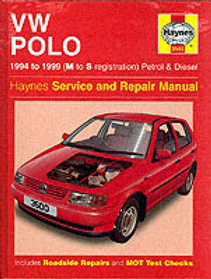 VW Polo Hatchback (1994-99) Service and Repair Manual - Jex, R. M.