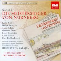 Wagner: Die Meistersinger von Nürnberg - Eberhard Büchner (vocals); Geraint Evans (vocals); Hans-Joachim Rotzsch (vocals); Heinz Reeh (vocals); Helen Donath (vocals);...
