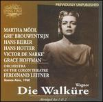 Wagner: Die Walk�re (Abridged)