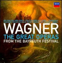 Wagner: The Great Operas from the Bayreuth Festival - Alison Browner (vocals); Anja Silja (vocals); Anna Reynolds (vocals); Annelies Burmeister (vocals); Astrid Varnay (vocals);...