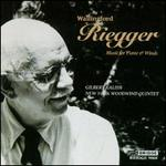 Wallingford Riegger: Music for Piano & Winds