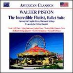 Walter Piston: The Incredible Flutist