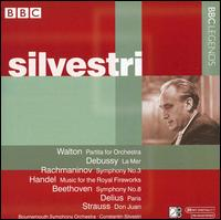 Walton: Partita for Orchestra; Debussy: La Mer; Rachmaninov: Symphony No. 3; Etc. - Bournemouth Symphony Orchestra; Constantin Silvestri (conductor)