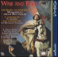 War and Faith - Edoardo Bellotti (organ); Ensemble Il Suonar Parlante; Ensemble la Fenice; Fabio Tricomi (flute); Fabio Tricomi (drums);...