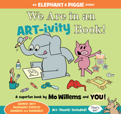 We Are in an ART-ivity Book! -