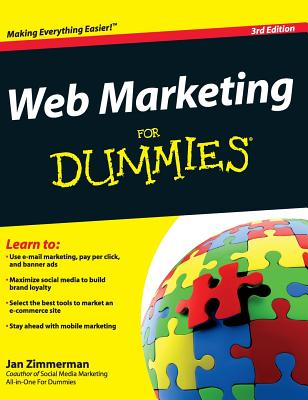 Web Marketing for Dummies - Zimmerman, Jan