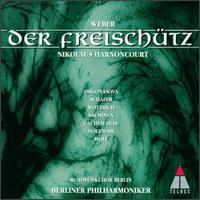 Weber: Der Freischütz - Ekkehard Schall; Elisabeth von Magnus (vocals); Gilles Cachemaille (vocals); Kurt Moll (bass); Luba Orgonasova (soprano);...