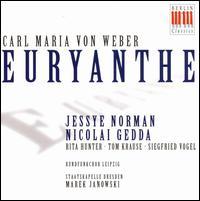 Weber: Euryanthe - Harald Neukirch (tenor); Jessye Norman (soprano); Nicolai Gedda (tenor); Renate Krahmer (soprano);...