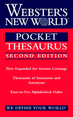 Webster's New World Pocket Thesaurus, Second Edition - Laird, Charlton