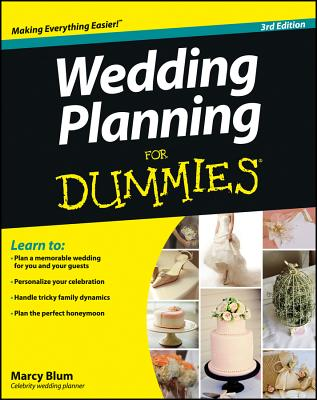 Wedding Planning for Dummies - Blum, Marcy