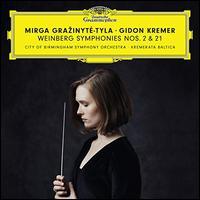 Weinberg: Symphonies Nos. 2 & 21 - Gidon Kremer (violin); Kremerata Baltica; City of Birmingham Symphony Orchestra; Mirga Gra?inyte-Tyla (conductor)