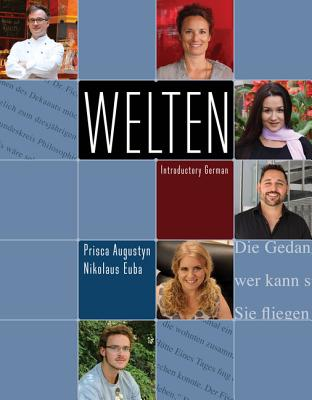Welten: Introductory German (with Ilrn(tm) Heinle Learning Center, 4 Terms (24 Months) Printed Access Card) - Augustyn, Prisca, and Euba, Nikolaus