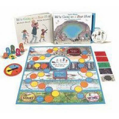 We're Going on a Bear Hunt - Book, Board Game and DVD - Rosen, Michael