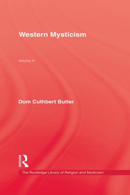Western Mysticism - Butler