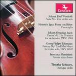 Westhoff, Biber, Bach, Telemann, Geminiani: Works for Violin