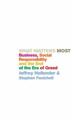 What Matters Most - Fenichell, Stephen, and Hollender, Jeffrey