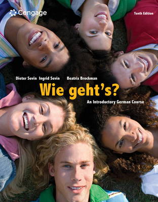 Wie Geht's?: An Introductory German Course - Sevin, Dieter, and Sevin, Ingrid, and Brockman, Beatrix