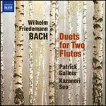 Wilhelm Friedemann Bach: Duets for Two Flutes