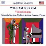 William Bolcom: Violin Sonatas